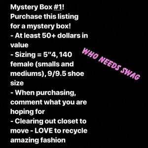 First Mystery Closet Clear Out Box